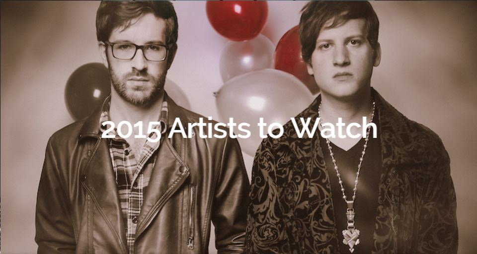 2015 Artists to Watch